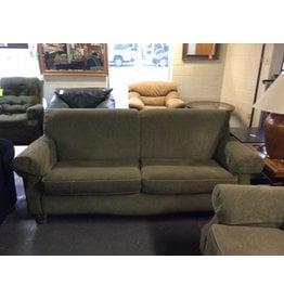 Green sofa / tweed - 8