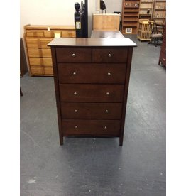5 drawer chest / cherry - 12