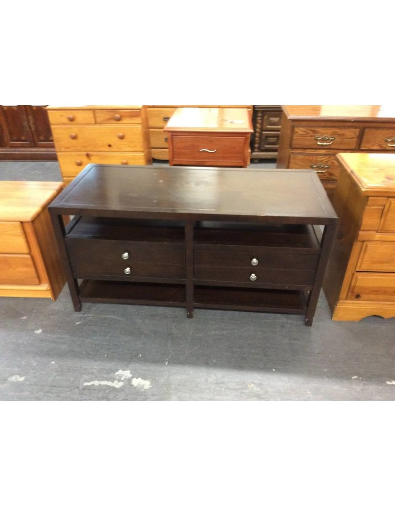 2 drawer TV stand / espresso