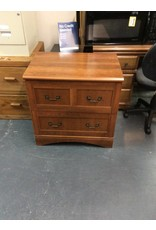2 drawer lateral file cabinet / 4 handles