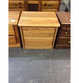 2 drawer nightstand / oak - 27