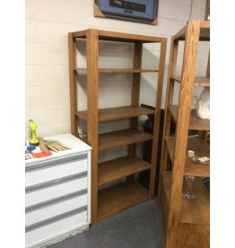 6' wall cabinet / oak - 2