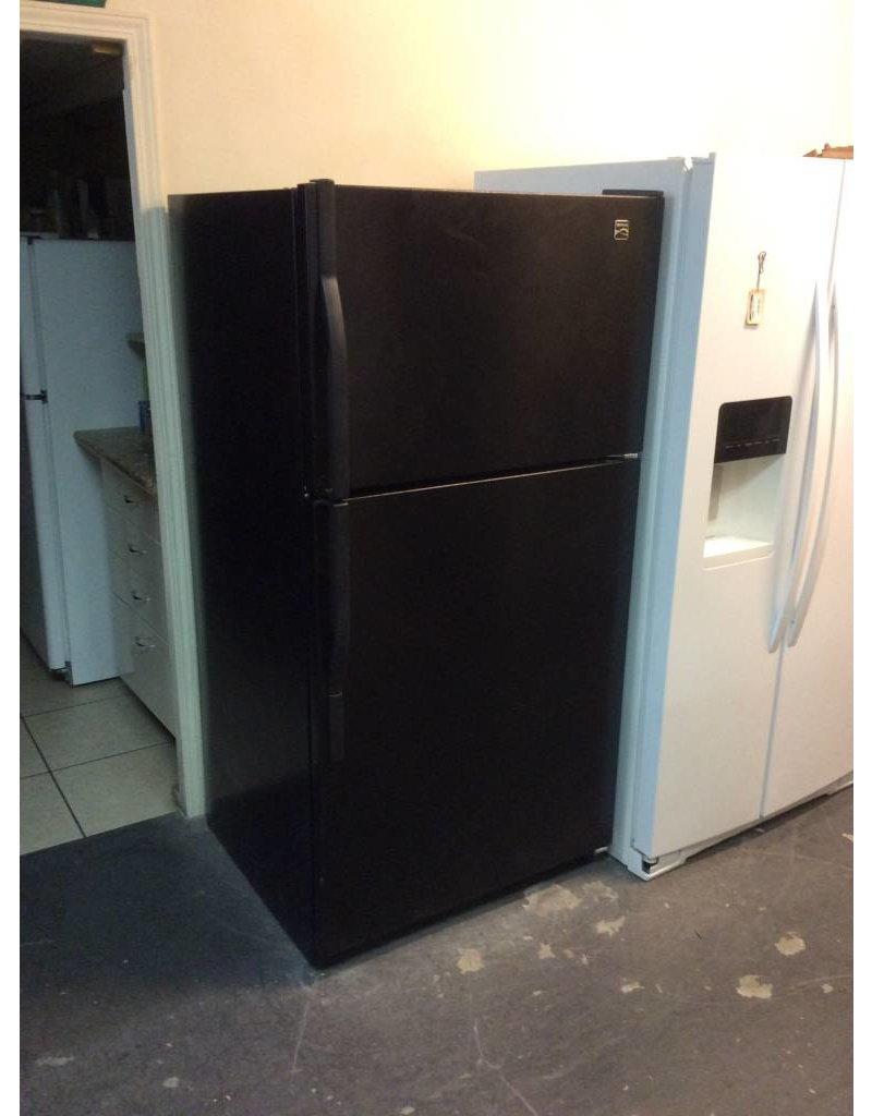 Black kenmore fridge