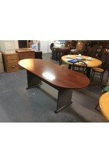 Conference table / cherry n metal