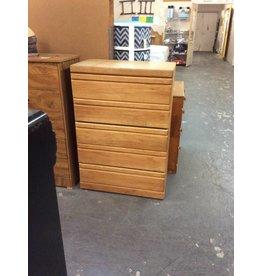 5 drawer chest / oak - 9