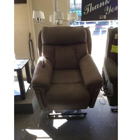 Electric lift recliner w adjustable head and back
