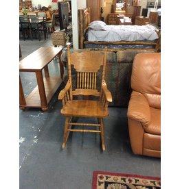 Rocking chair / oak - 11