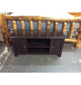 TV stand / 2 door espresso