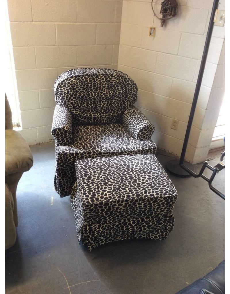Leopard print rocker w otto