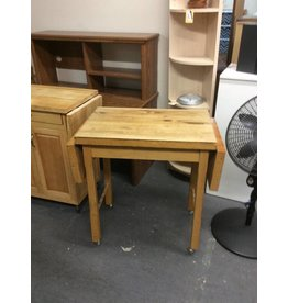 Kitchen butcher block / fold down