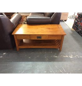 Coffee table / mission one drawer