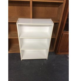 3' bookcase / white