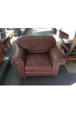 Chair / leather n cinnamon