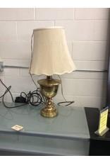 Lamp / gold n white