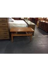 Coffee table / pop up oak - 2