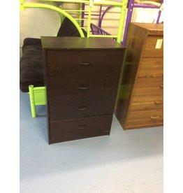 4 drawer chest / espresso