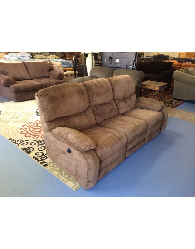 Dual Reclining Sofa Brown Micro Recycled Furniture