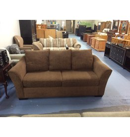 Sofa / brown w pattern
