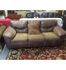 Sofa / brown leather - 13