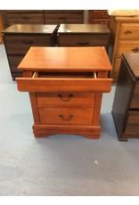 2 drawer nightstand / cherry w jewelry drawer