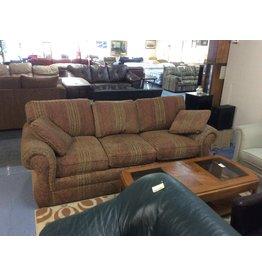 Sofa / brown floral