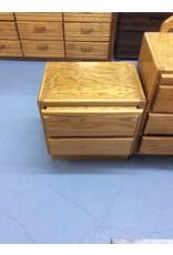 Pair nightstands / 2 drawer w slideouts