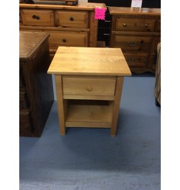 1 drawer nightstand / blonde