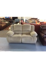 Electric dual reclining love / grey micro