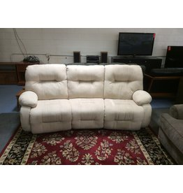 Dual reclining Sofa / cream