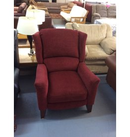 Recliner / red push back