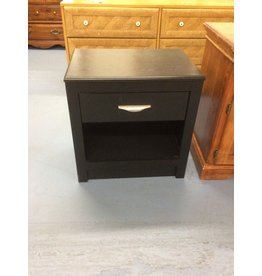 Nightstand / 1 drawer black