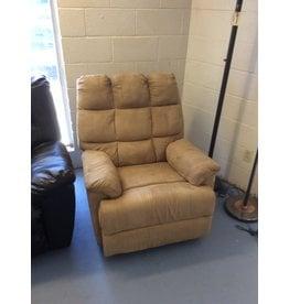 Rocker recliner /  tan micro