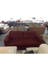 Sofa / red tweed