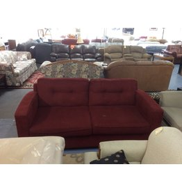 Sofa / red tweed