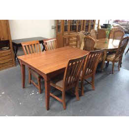 5 piece dinette / cherry padded