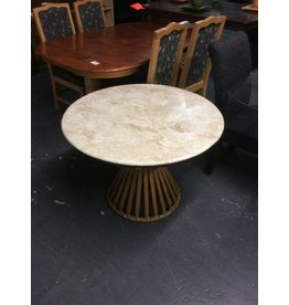 3 piece dinette / granite n round