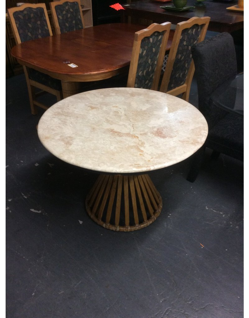 Table only / granite n round