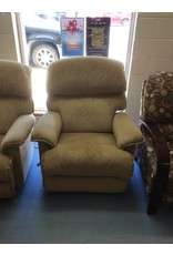 Lazyboy recliner / tan suede