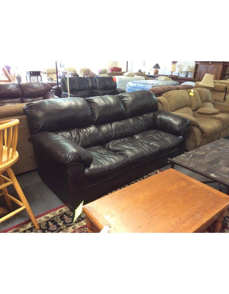 Sofa / black leather