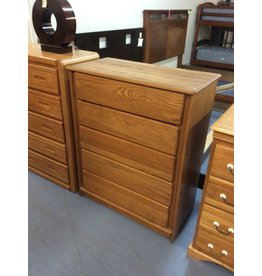 5 drawer chest / oak