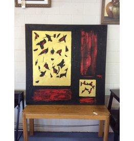 Painting / black n red