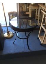 End table / round w spokes