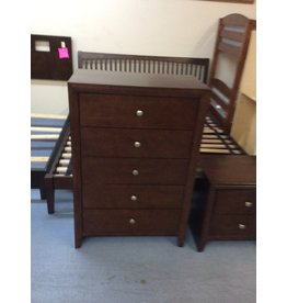 5 drawer chest / cherry