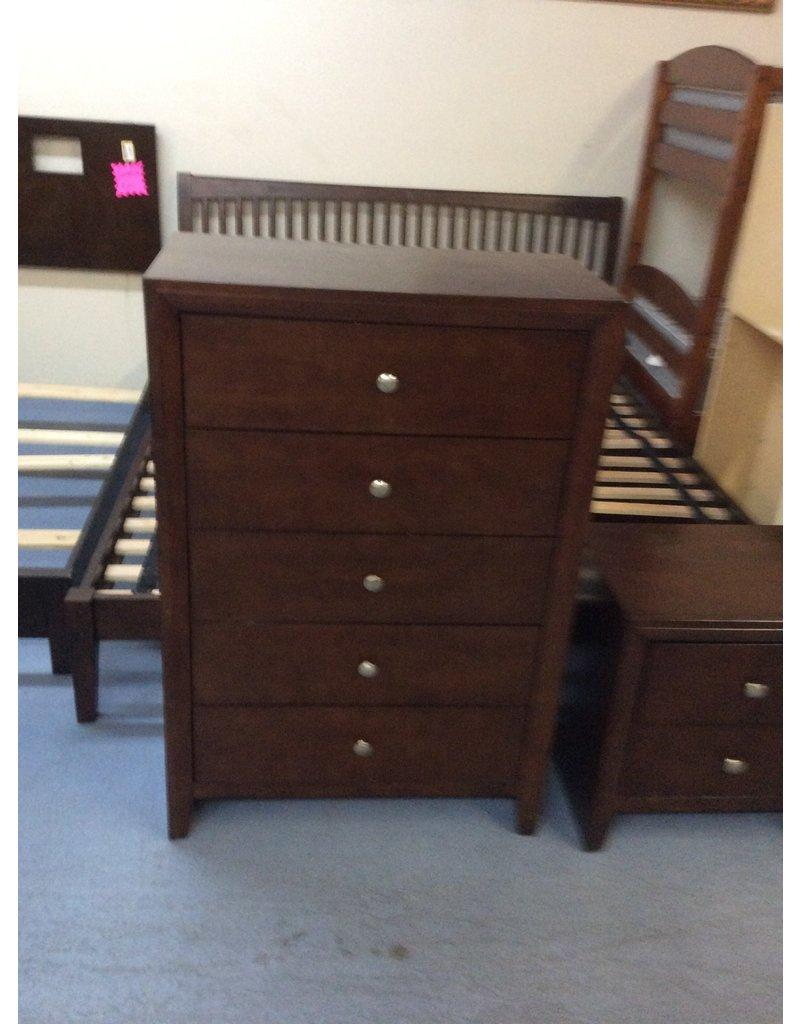 5 drawer chest / cherry