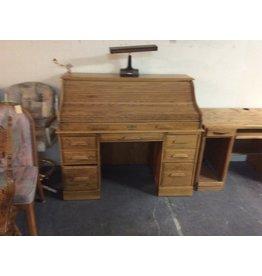 Roll top desk / oak