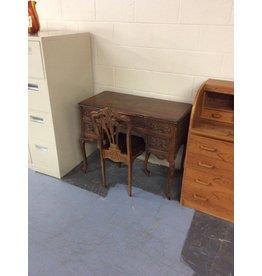 Antique desk w chair