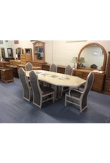 7 piece dinette / slate inlays