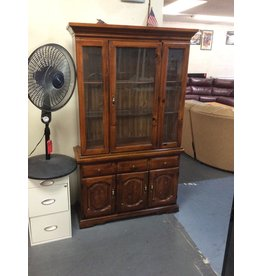 China hutch / pine, 1 door