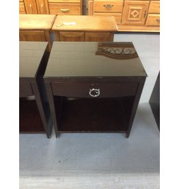 1 drawer nightstand /  espresso larger