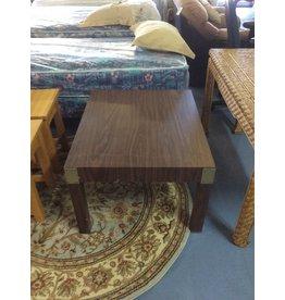 Coffee table / square oak wrap